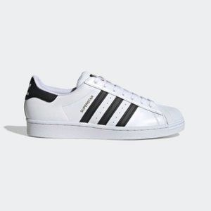 Adidas Superstars White and Black Mens Size 11